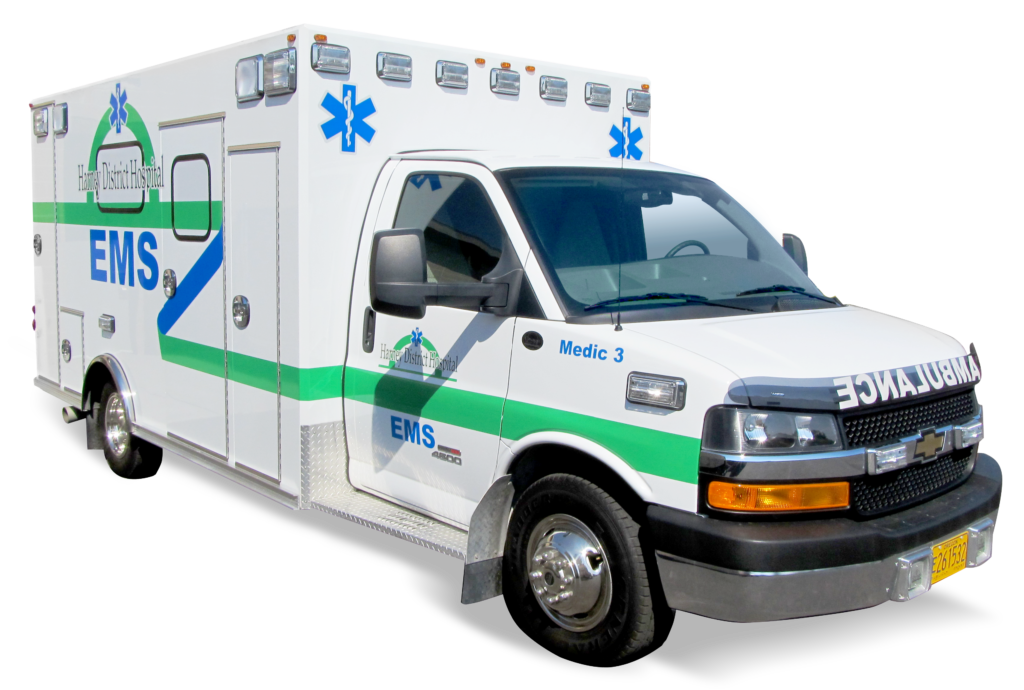 Harney District Hospital EMS ambulance