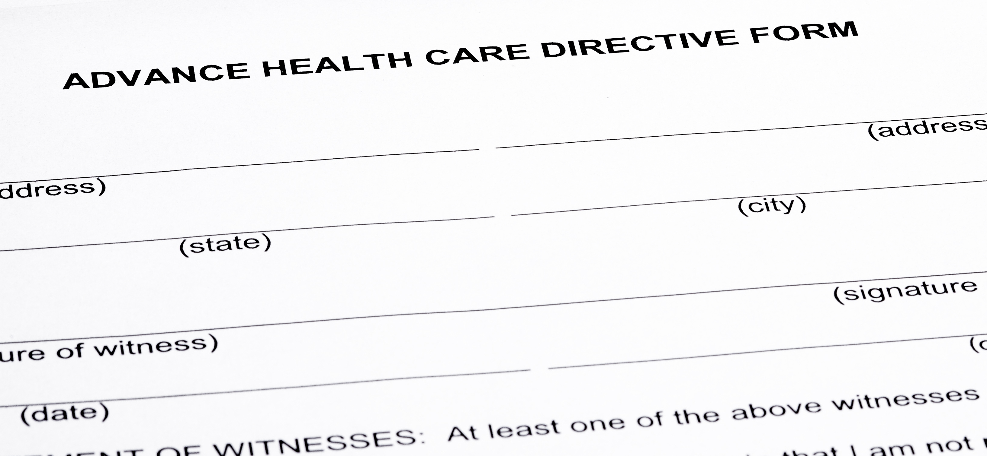 Advance Directives: What Should You Know?