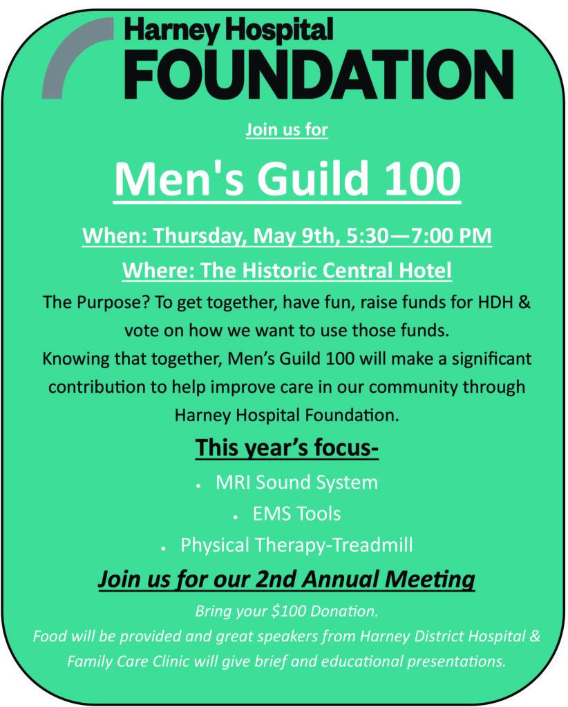 Men's Guild 2019 Poster